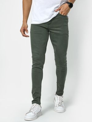 REALM Mid Rise Basic Denim Jeans