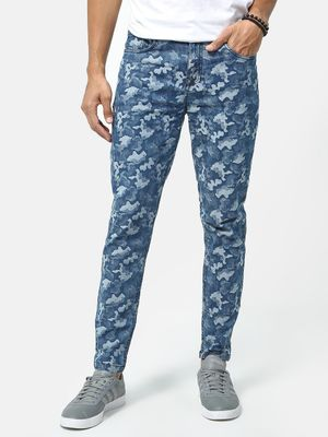 REALM All Over Camouflage  Print Jeans
