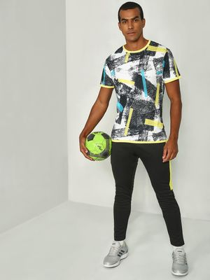 ONE/ZERO BY KOOVS Splatter Print Training T-Shirt