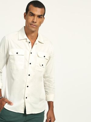 Blue Saint Basic Long Sleeves Slim Fit Shirt