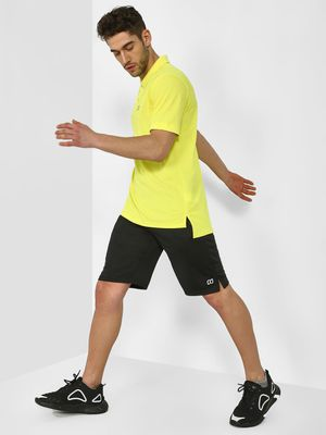 ONE/ZERO BY KOOVS Athleisure Essential Split-Hem Shorts