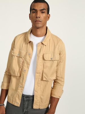 K Denim Basic Twin  Pocket Jacket