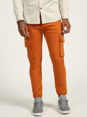 K Denim Utility Pocket Slim Fit Joggers