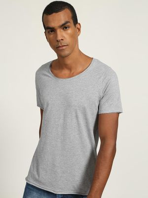 Blue Saint Scoop Neck T-shirt