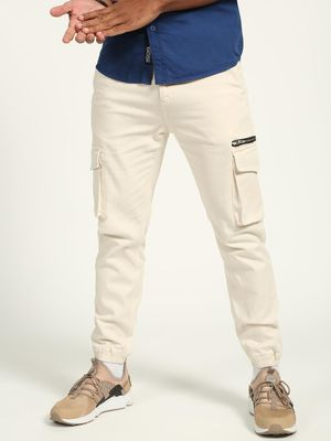 K Denim  Side Zipper Skinny Fit Joggers