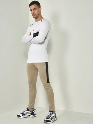 ONE/ZERO BY KOOVS Contrast Panel Training Joggers