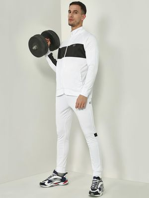 ONE/ZERO BY KOOVS Contrast Panel Windproof Tracksuit