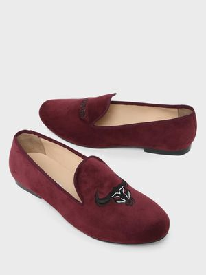Marcello & Ferri Madrid Embroidered Loafers