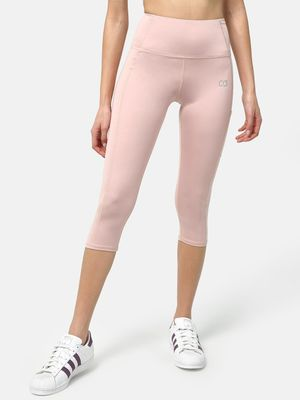 ONE/ZERO BY KOOVS Cropped Training Leggings