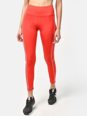 ONE/ZERO BY KOOVS Contrast Trim Training Leggings