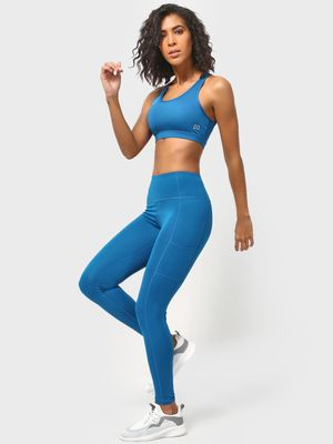 ONE/ZERO BY KOOVS High Waist Training Leggings