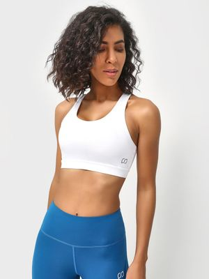 ONE/ZERO BY KOOVS Racerback Padded Sports Bra