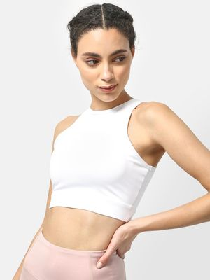 ONE/ZERO BY KOOVS Logo Padded Sports Bra