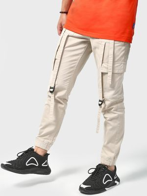 Blue Saint Hanging Straps Utility Pocket Joggers