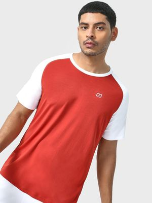 ONE/ZERO BY KOOVS Color Block Training T-shirt