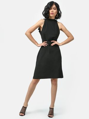 KOOVS Tie-Knot Backless Midi Dress
