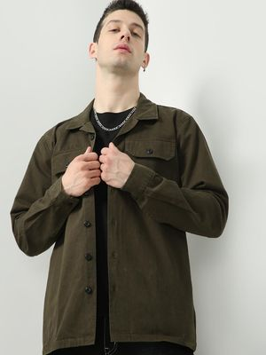 REALM Essential Button-Down Jacket