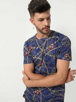 KOOVS Graphic Print T-Shirt