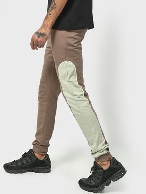 KOOVS Contrast Side Panel Joggers