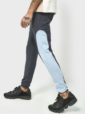 KOOVS Contrast Side Tape Jog Pants