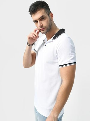 KOOVS Basic Muscle Fit Polo Shirt
