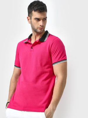 KOOVS Muscle Fit Polo Shirt