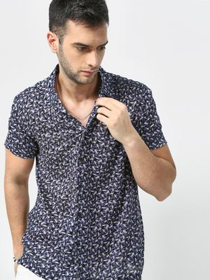KOOVS Essential All Over Print Shirt