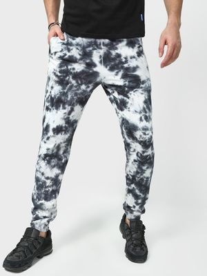 Blue Saint Elasticated Waist Tie- Dye Joggers
