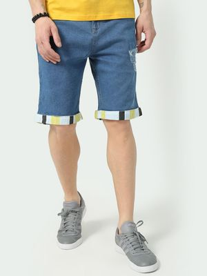 KOOVS Classic Roll-Up Hem Shorts