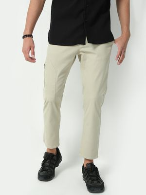 KOOVS Basic Solid Casual Trousers