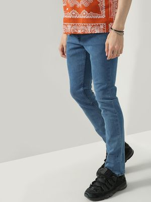 K Denim KOOVS Smart Mid-Rise Denim Jeans