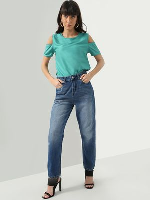 KOOVS K Denim  Mid-Wash Denim Jeans