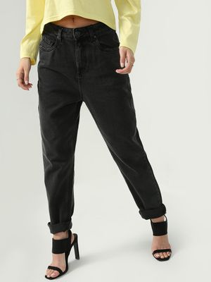 KOOVS Mid-Rise Regular Fit Jeans