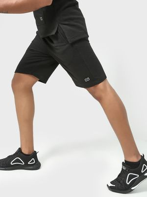 ONE/ZERO BY KOOVS Athleisure Sports Shorts