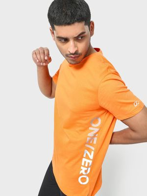ONE/ZERO BY KOOVS Reflective Logo Training T-shirt