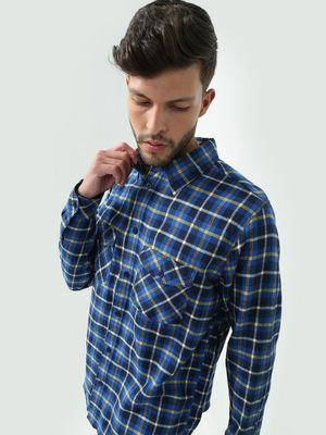 Oxolloxo  All Over Multi Checkered Printed Shirt