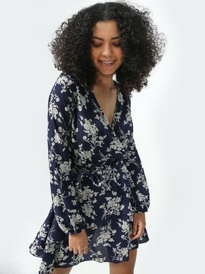 KOOVS All Over Floral Print Dress