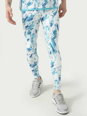 ONE/ZERO BY KOOVS Paint Splatter Print Training Joggers