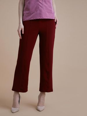 D'BASIC Smart Regular Fit Trousers