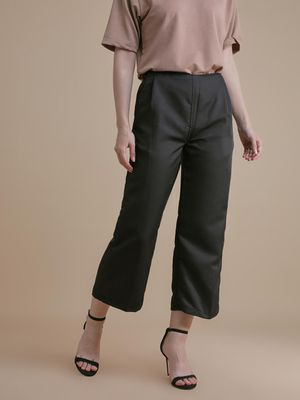 D'BASIC Wide Leg Casual Trousers