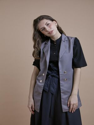 D'BASIC Casual Sleeveless Jacket