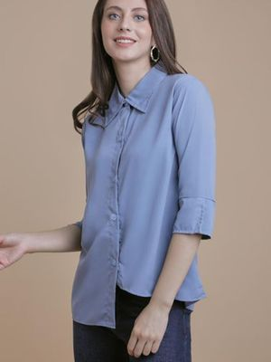 MERAKI Essential Regular Fit Blouse