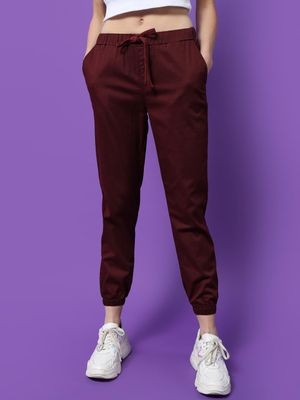 Freakins Elastic Waisted Relaxed Fit Joggers