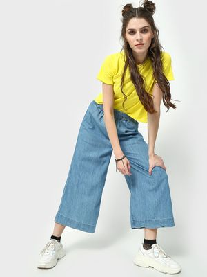 Freakins Elasticated Waist Relaxed Fit Jeans