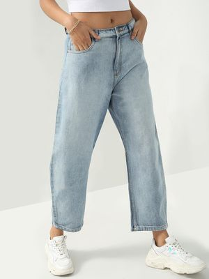 Freakins Smart Light-Wash Denim Jeans
