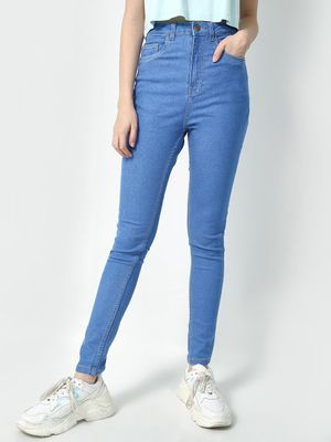 Freakins High Waist Skinny Jeans