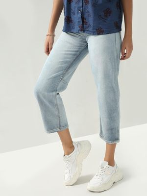 Freakins Essential Light Wash Denim Jeans