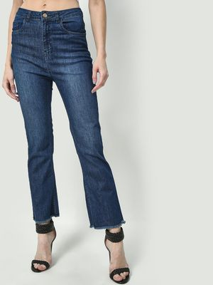 Freakins Mid Wash Bootcut Regular Jeans