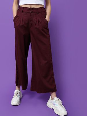 Freakins Frakins Relaxed Fit Pleated Palazzo Pants
