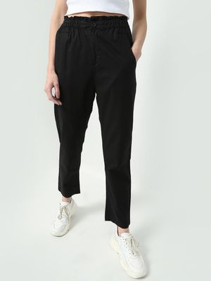 Freakins Smart Elasticated Waist Trousers